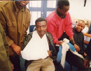 First Aiders in Alexandra learn bandaging